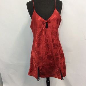 Victoria's Secret Large Red Chemise Nightgown